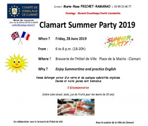 190606 jumelage Clamart Summer Party 2019 V3