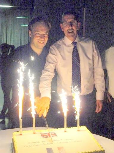 18 gâteau d'anniversaire