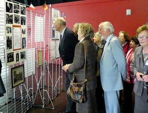 Exposition, visiteurs